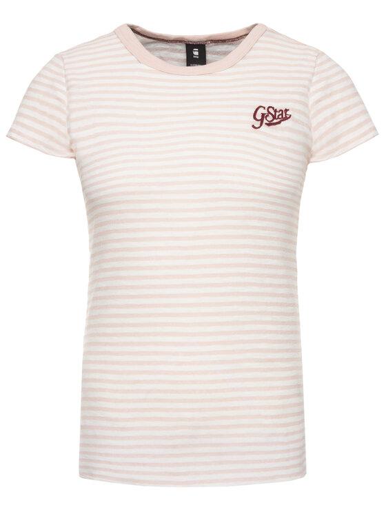 G-Star Raw G-Star Raw T-Shirt D14712-9024-A676 Ροζ Regular Fit