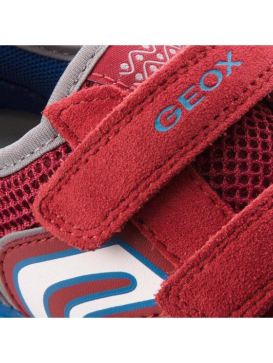 Geox Geox Półbuty J Trifon B. B J723MB 01422 C7239 M Czerwony