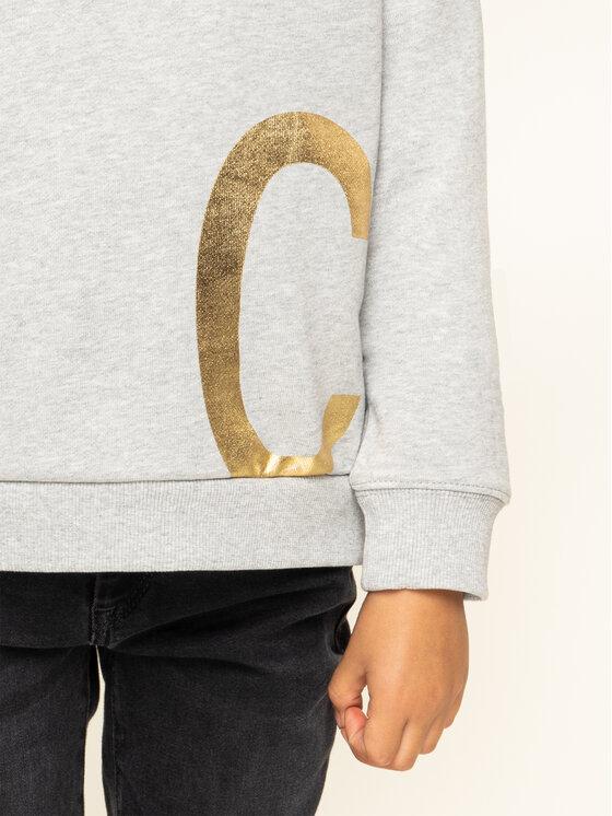 Calvin Klein Calvin Klein Felpa CK Gold IG0IG00290 Grigio Regular Fit