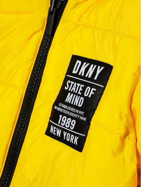 DKNY DKNY Pernata jakna D36642 M Žuta Regular Fit