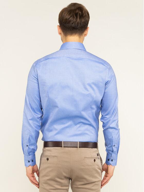 Emanuel Berg Emanuel Berg Hemd Hv-Harvard PEB45789 Blau Modern Fit