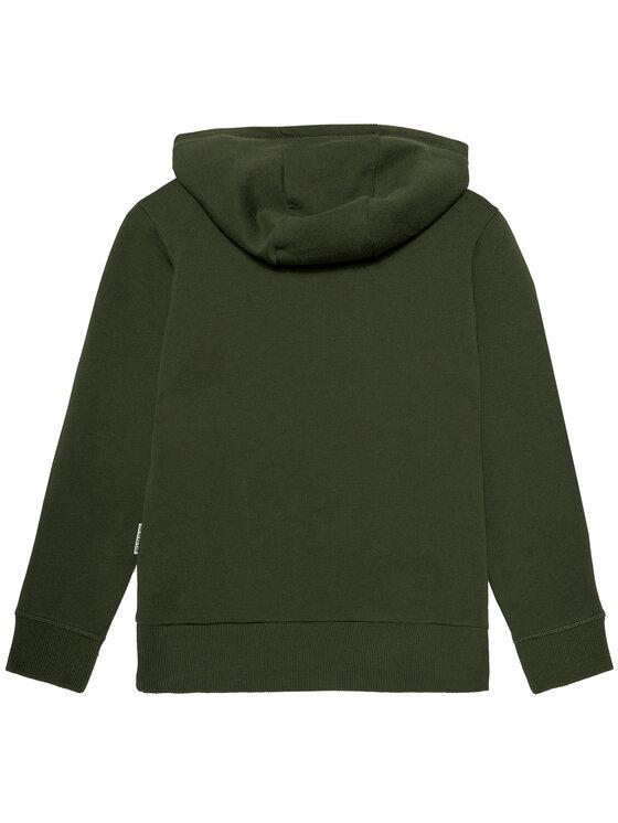 Napapijri Napapijri Bluza K Birex H NP0A4EQ1 S Zielony Regular Fit