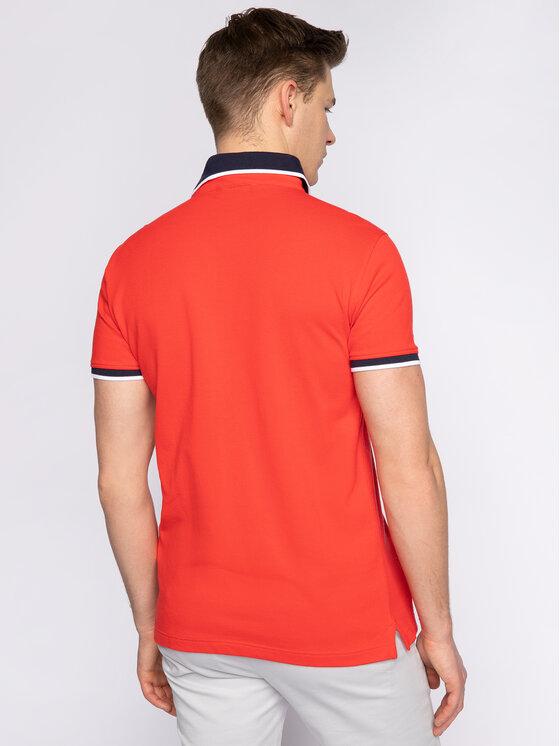 Trussardi Jeans Trussardi Jeans Polokošeľa 52T00344 Červená Regular Fit