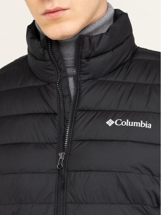 Columbia Columbia Pūkinė striukė Powder Lite 1698001 Juoda Regular Fit