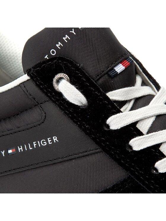 TOMMY HILFIGER TOMMY HILFIGER Sneakersy Danny 1C4 FM0FM00439 Černá
