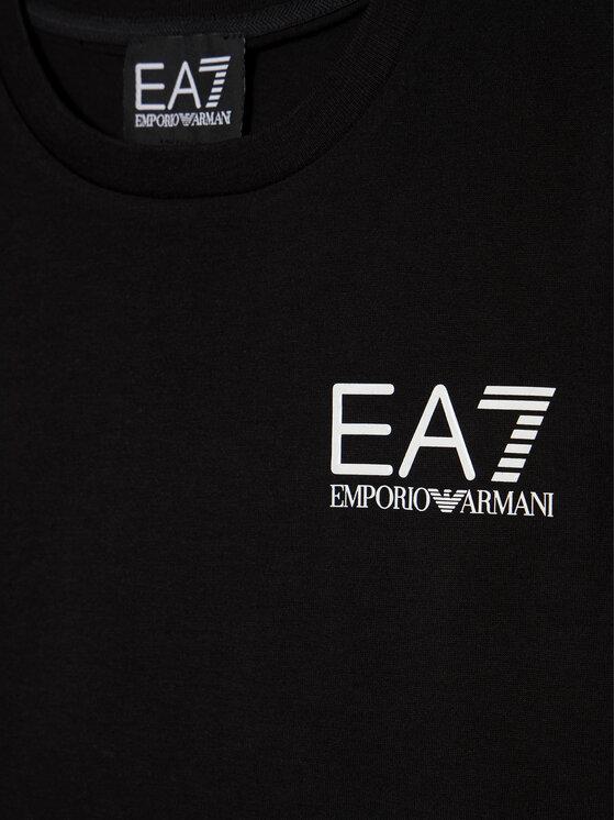EA7 Emporio Armani EA7 Emporio Armani T-Shirt 6HBT51 BJ02Z 1200 Černá Regular Fit