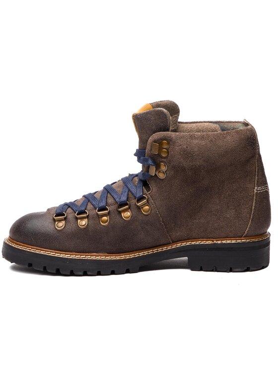 Pepe Jeans Pepe Jeans Kozaki Sherpa Boot Sde PMS50166 Brązowy