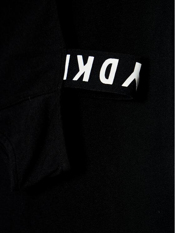 DKNY DKNY T-Shirt D35R44 S Czarny Regular Fit