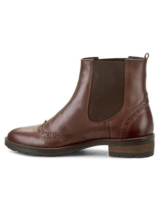 Gino Rossi Gino Rossi Kotníková obuv s elastickým prvkem Nevia DSG621-M78-CV00-3300-0 Hnědá