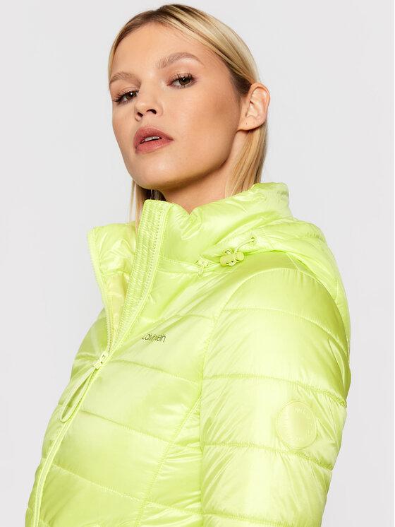 Calvin Klein Calvin Klein Пухено яке Essential K20K202994 Жълт Regular Fit