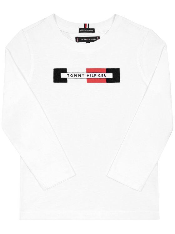 Tommy Hilfiger Tommy Hilfiger Chemisier Essential Logo KB0KB05125 M Blanc Regular Fit