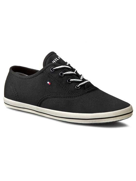 Tommy Hilfiger Tommy Hilfiger Πάνινα παπούτσια Victoria 1D FW56820836 Μαύρο