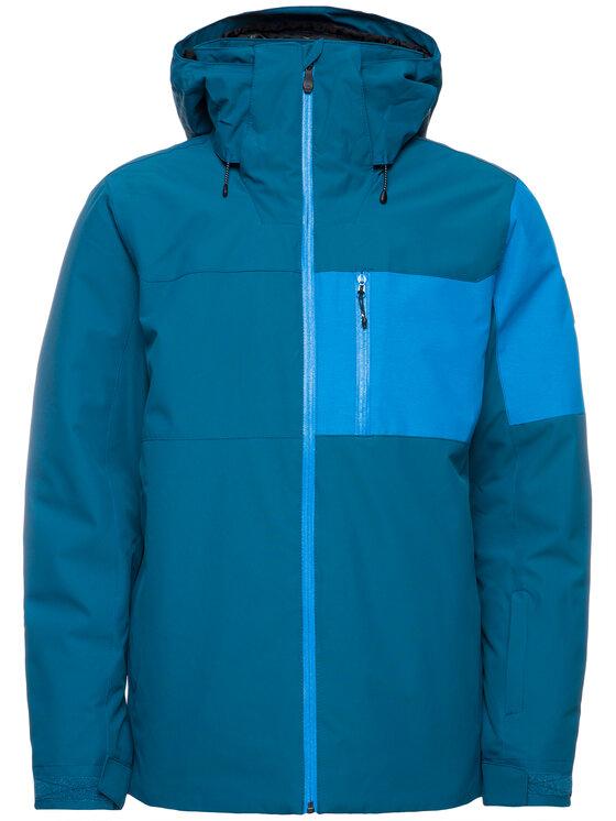 Quiksilver Quiksilver Kurtka narciarska Mission Plus EQYTJ03215 Niebieski Slim Fit