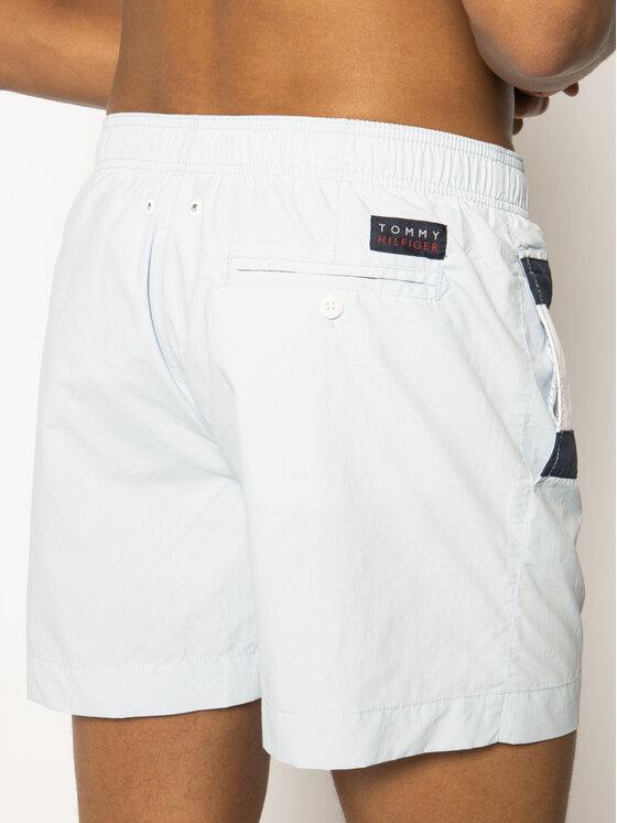 TOMMY HILFIGER TOMMY HILFIGER Badeshorts Medium Drawstring UM0UM01070 Blau Regular Fit