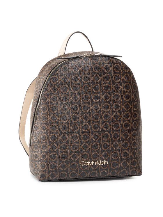 Calvin Klein Calvin Klein Plecak Ck Mono Backpack Sm K60K6064760 Brązowy