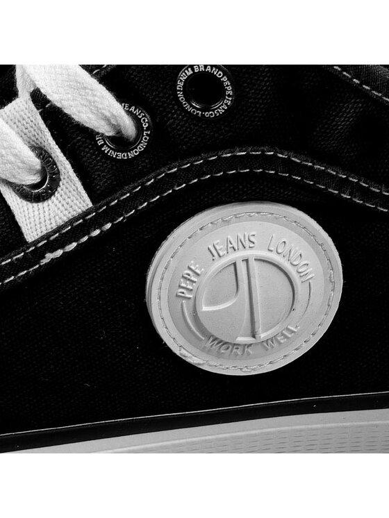 Pepe Jeans Pepe Jeans Tornacipő Industry Basic PMS30098 Fekete