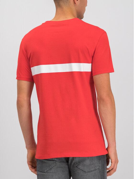 Boss Boss T-Shirt 50407600 Czerwony Slim Fit
