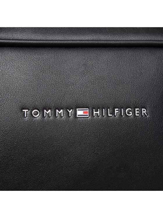 Tommy Hilfiger Tommy Hilfiger Torba na laptopa Metro Slim Computer Bag AM0AM07544 Czarny