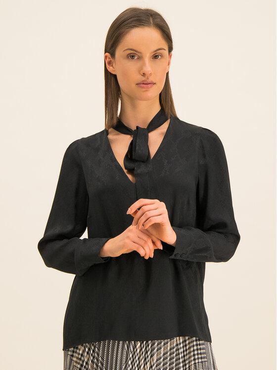 Marella Marella Блуза Ennio 31161096 Черен Regular Fit