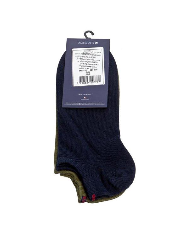 Tommy Hilfiger Tommy Hilfiger Set de 2 perechi de șosete scurte pentru bărbați 342023001 Bleumarin