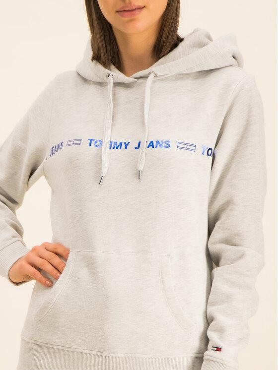 Tommy Jeans Tommy Jeans Pulóver Tjw Liner Logo DW0DW07798 Szürke Regular Fit