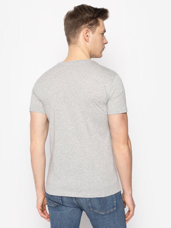 Trussardi Trussardi T-shirt 52T00330 Grigio Regular Fit