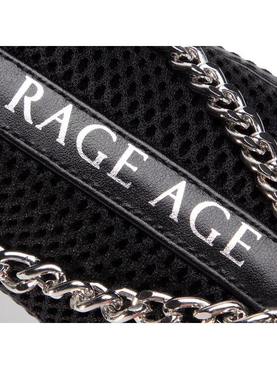 Rage Age Rage Age Sneakersy RA-02-01-000003 Czarny