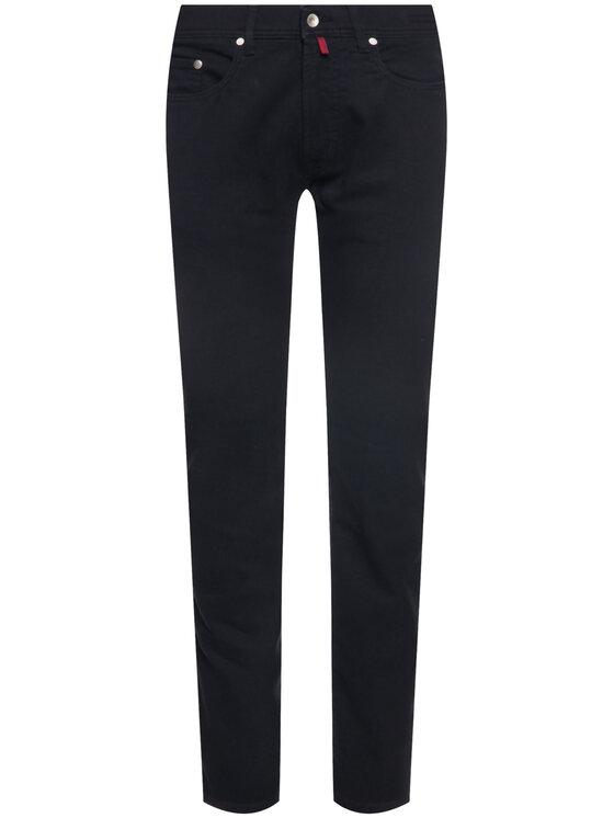 Pierre Cardin Pierre Cardin Kalhoty z materiálu 30917/000/4731 Tmavomodrá Regular Fit