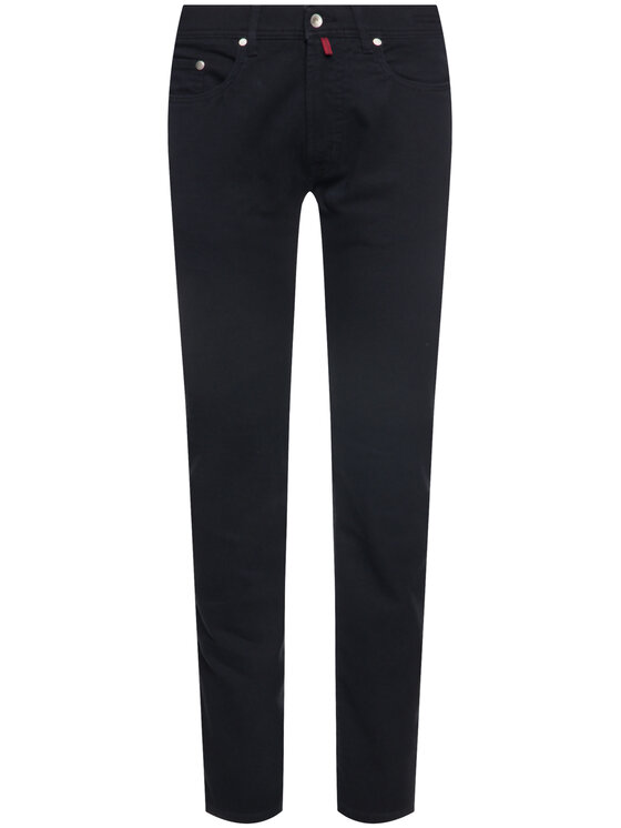 Pierre Cardin Pierre Cardin Текстилни панталони 30917/000/4731 Тъмносин Regular Fit