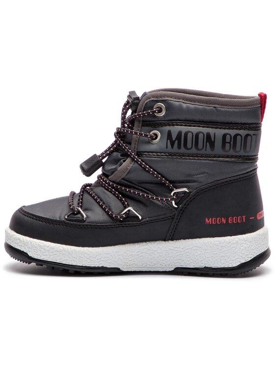 Moon Boot Moon Boot Śniegowce Jr Boy Mid Wp 34051200004 Szary