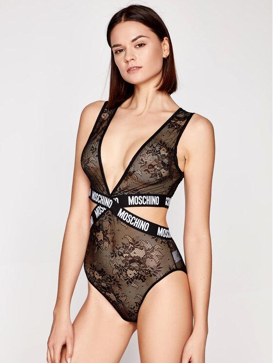 MOSCHINO Underwear & Swim Glaustinukė 6016 9024 Juoda