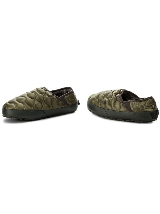 The North Face The North Face Kapcie Thermoball Traction Mule IV T9331EZFP Zielony