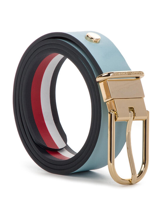 TOMMY HILFIGER TOMMY HILFIGER Cintura da donna New Fancy Reversible Belt 3.0 AW0AW06554 Blu