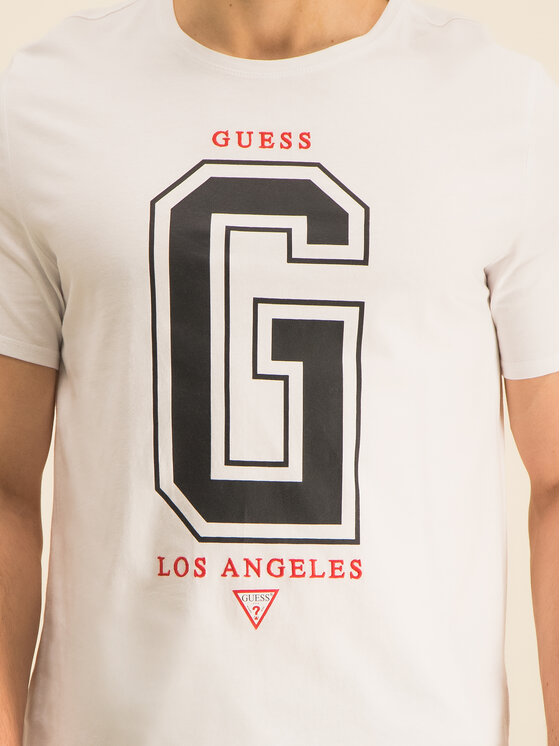Guess Guess T-Shirt M94I59 K8FQ0 Λευκό Regular Fit