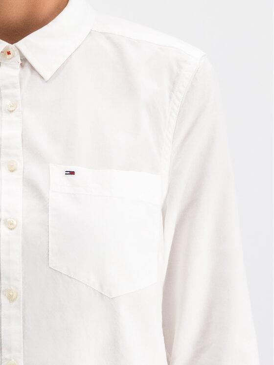 Tommy Jeans Tommy Jeans Koszula Tjw Original Light DW0DW04433 Biały Regular Fit