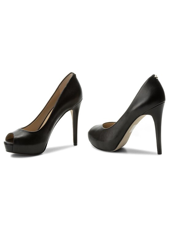 Guess Guess Pantofi cu toc subțire Hadie9 FLHA91 LEA07 Negru
