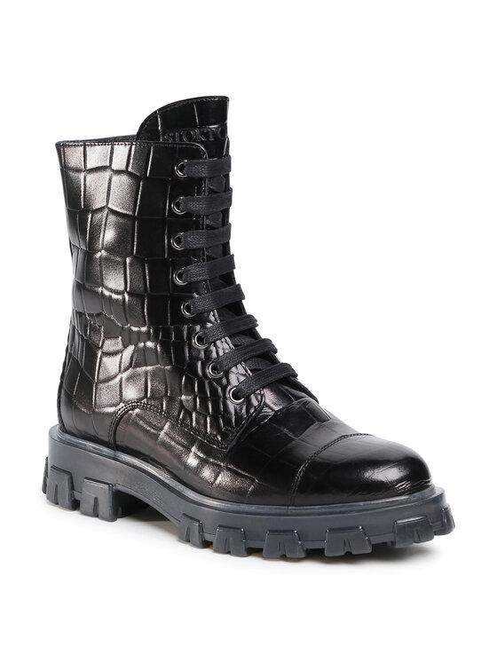 Stokton Žygio batai Blk41 Juoda