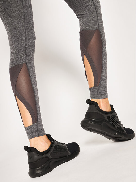 Nike Nike Leggings Pro Intertwist BV6189 Grau Tight Fit
