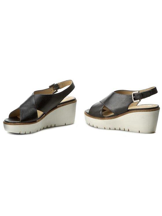 Geox Geox Sandále D Domezia C D721XC 000LC C9999 Čierna