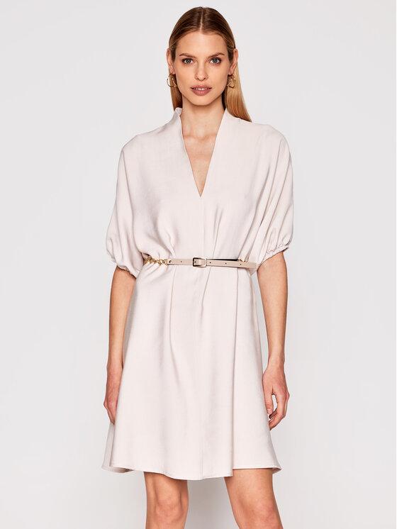 Imperial Kasdieninė suknelė ABQCBGI Smėlio Regular Fit