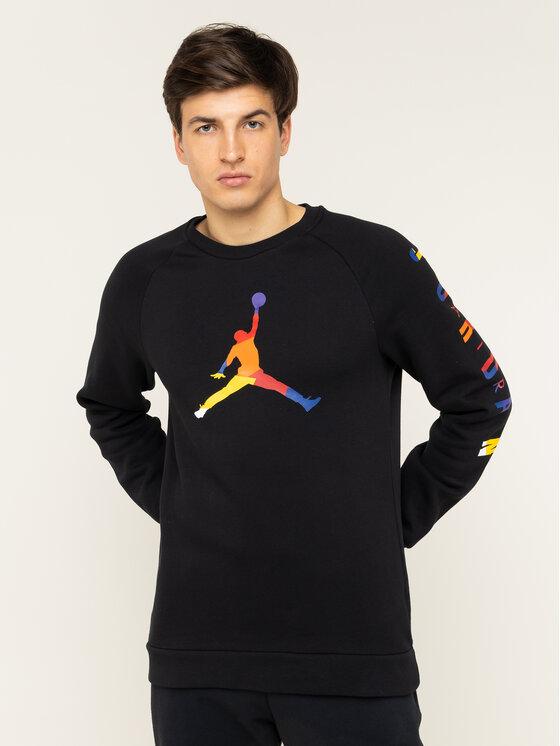 Nike Nike Bluza JORDAN DNA AV0044 Czarny Standard Fit
