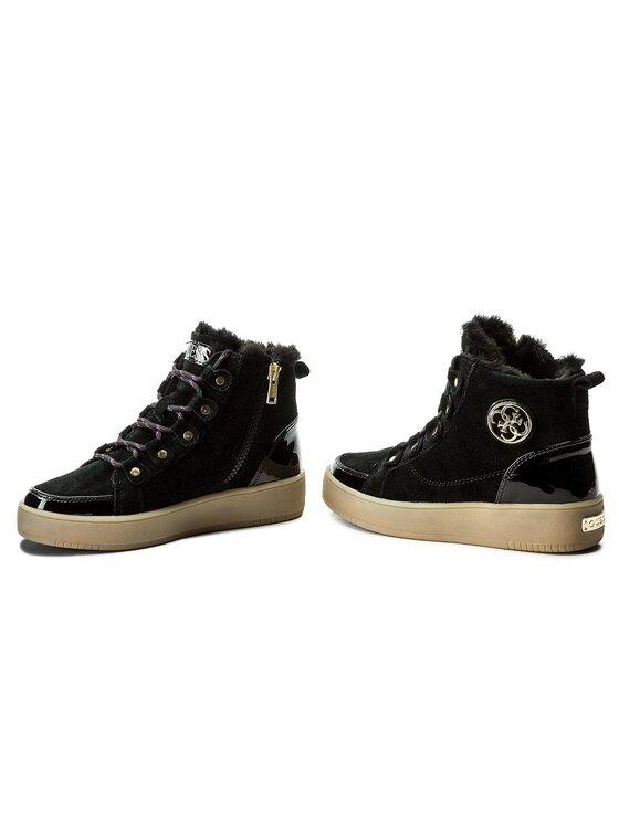 Guess Guess Sneakersy Dina FLDIN4 SUE12 Čierna