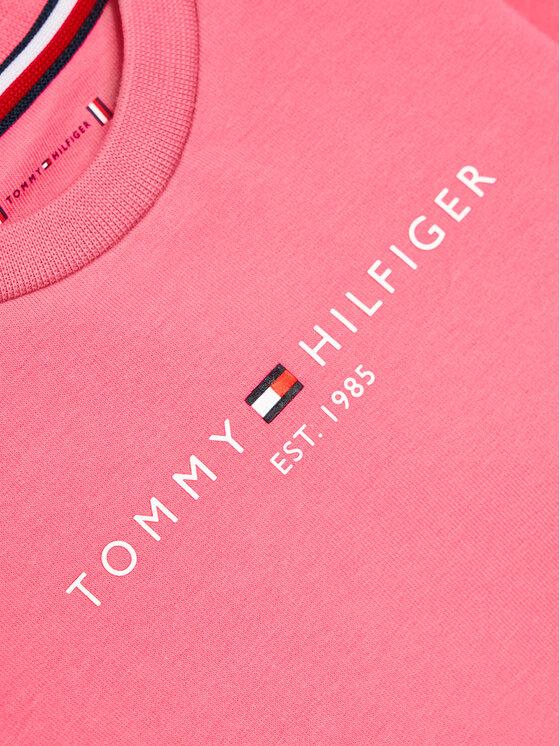 Tommy Hilfiger Tommy Hilfiger Bluza Baby Essential KN0KN01279 Różowy Regular Fit