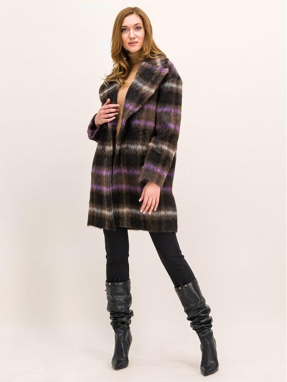 Pennyblack Pennyblack Manteau en laine Alfa 20140219 Multicolore Regular Fit