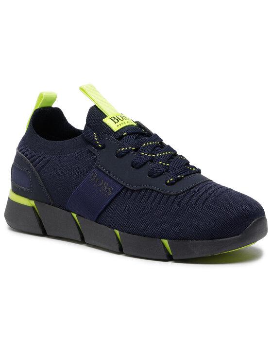 Boss Boss Sneakersy J29217 D Granatowy
