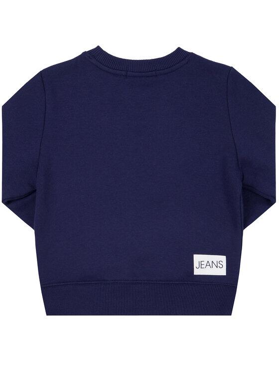 Calvin Klein Jeans Calvin Klein Jeans Sweatshirt Institutional IU0IU00040 Bleu marine Regular Fit