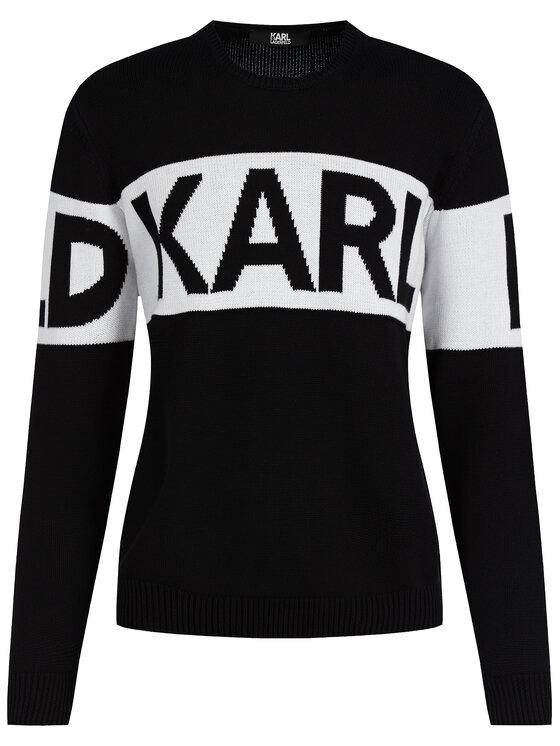 KARL LAGERFELD KARL LAGERFELD Пуловер 655046 592301 Черен Regular Fit