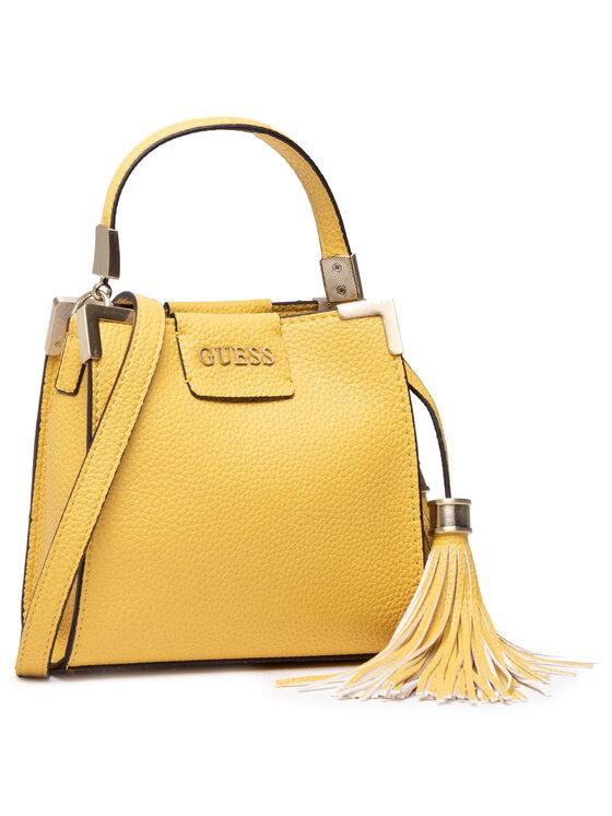 Guess Guess Torebka Catania Mini HWVS81 36760 Żółty
