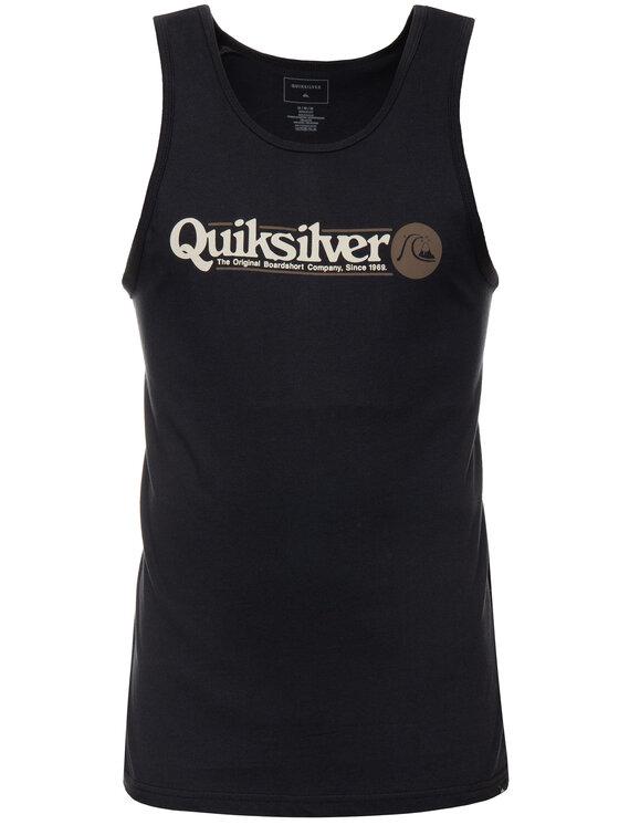 Quiksilver Quiksilver Tank top EQYZT05289 Czarny Regular Fit