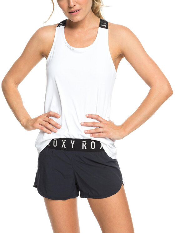 Roxy Roxy Σορτς παραλίας ERJNS03191 Μαύρο Regular Fit